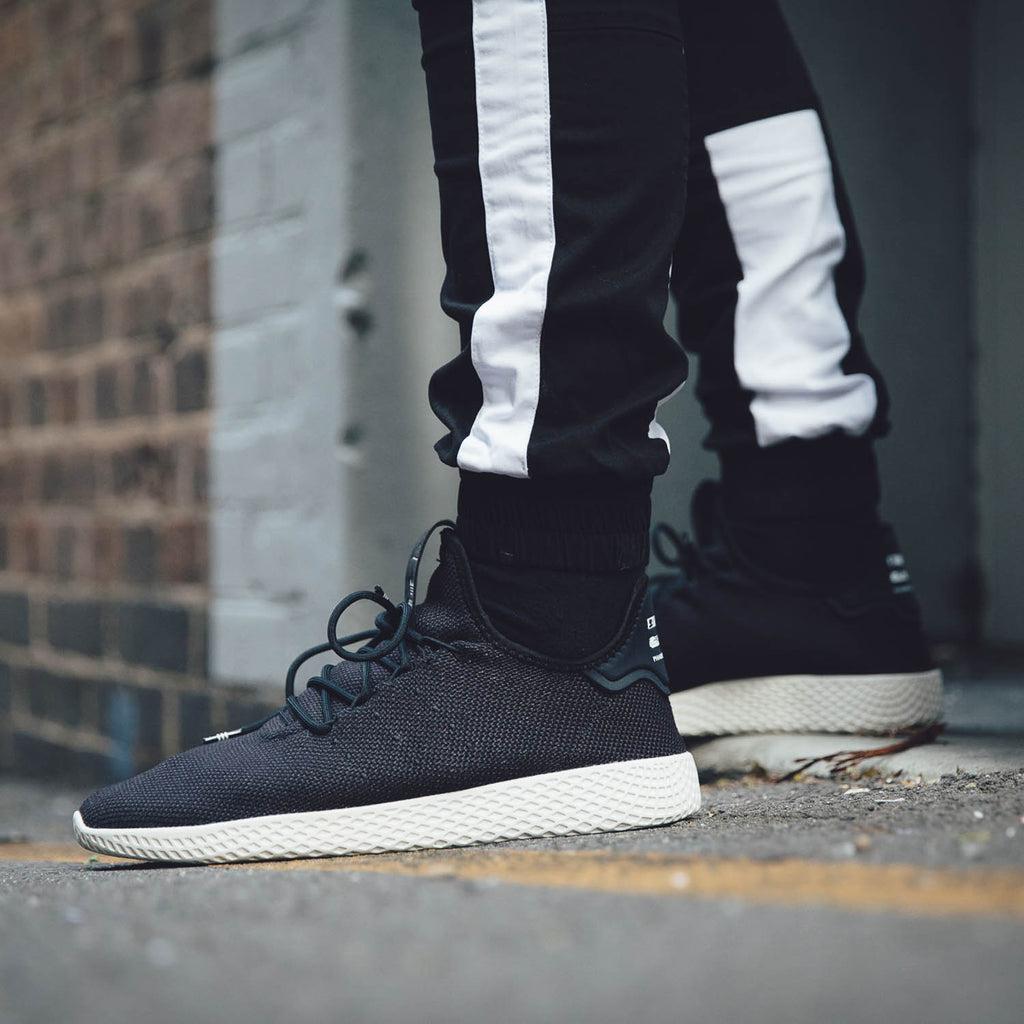 Adidas Originals Pharrell Williams Tennis HU Shoe BlackWhite