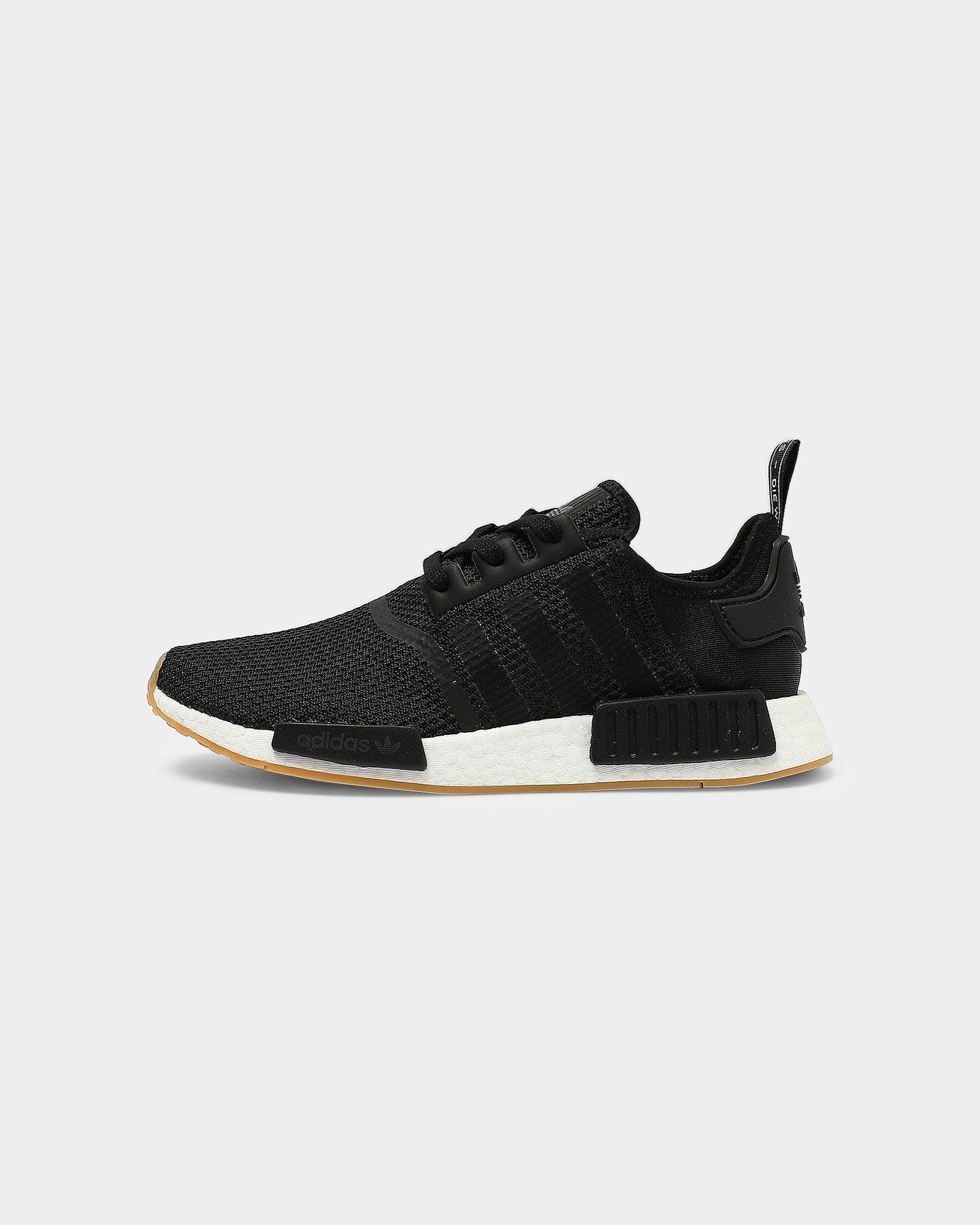 Adidas Nmd R1 Black White Gum Culture Kings Us