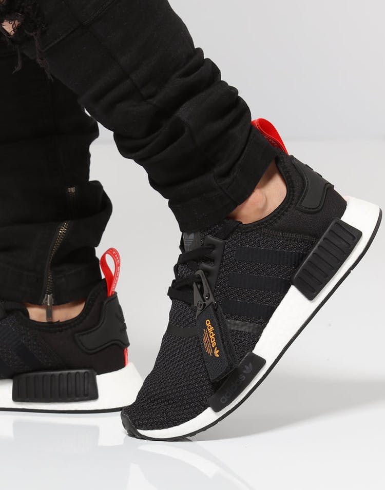 super popular 026ce d3428 Adidas NMD R1 Black/White/Red