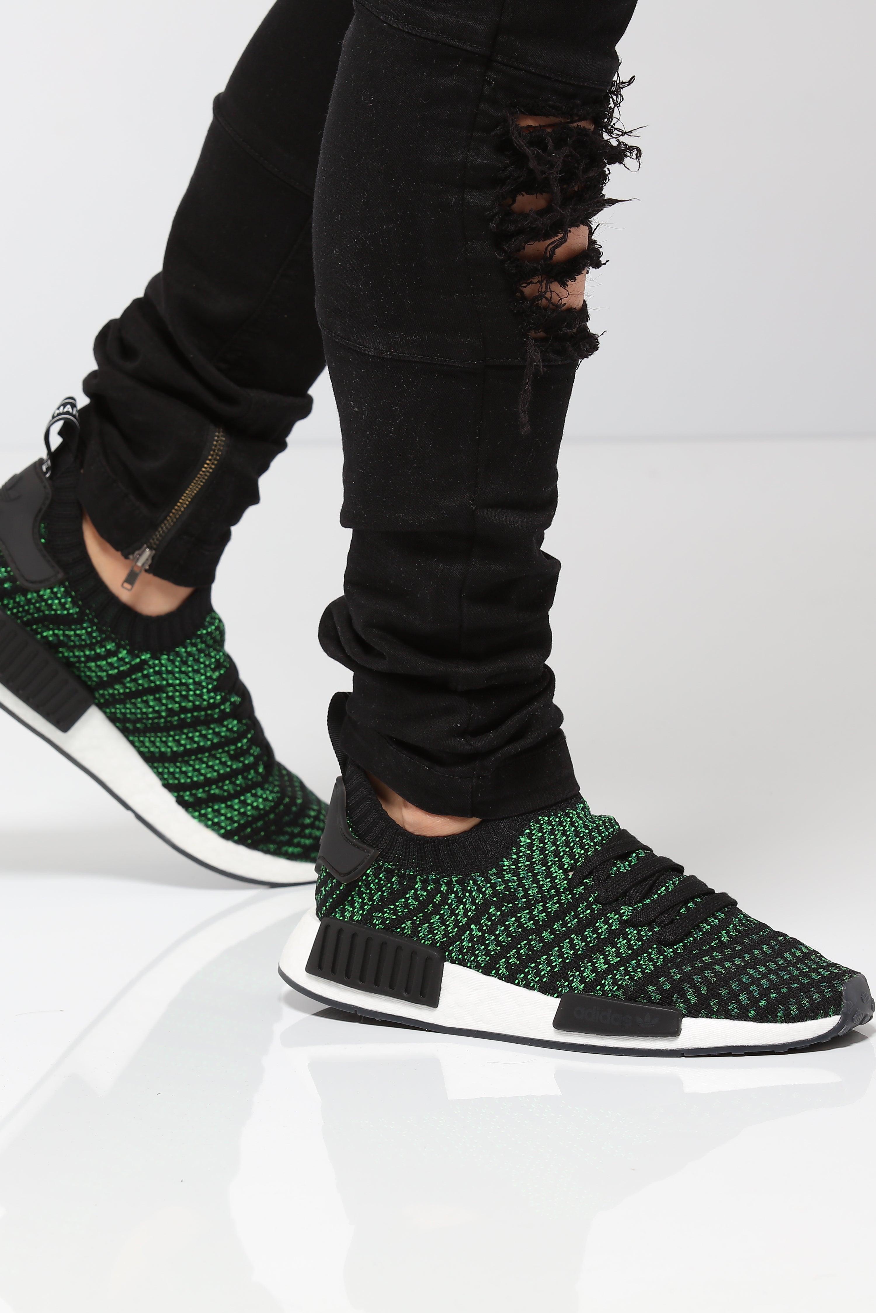 Adidas NMD R1 STLT Primeknit Green