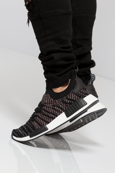 Adidas NMD R1 STLT Primeknit Black/Multi-Colour