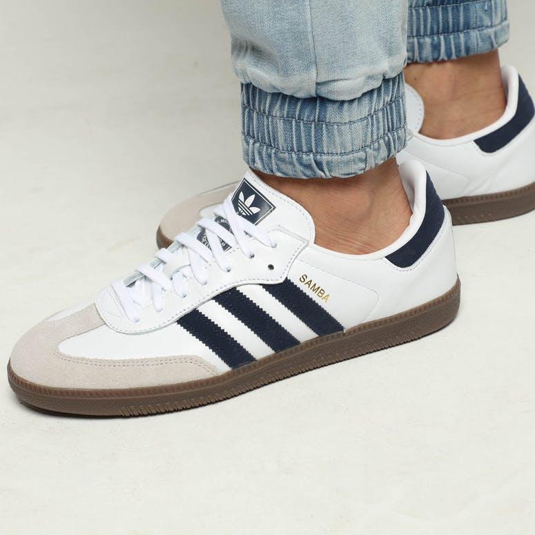 12d17f2b2 Adidas Samba OG White/Navy