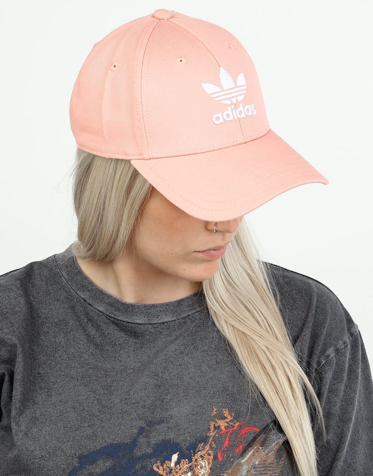 arriving casual shoes get new Adidas Baseball Classic Trefoil Pink/White