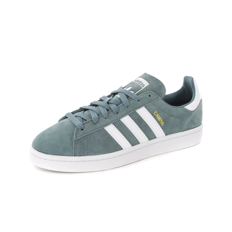 Adidas Campus Green/White | B37822