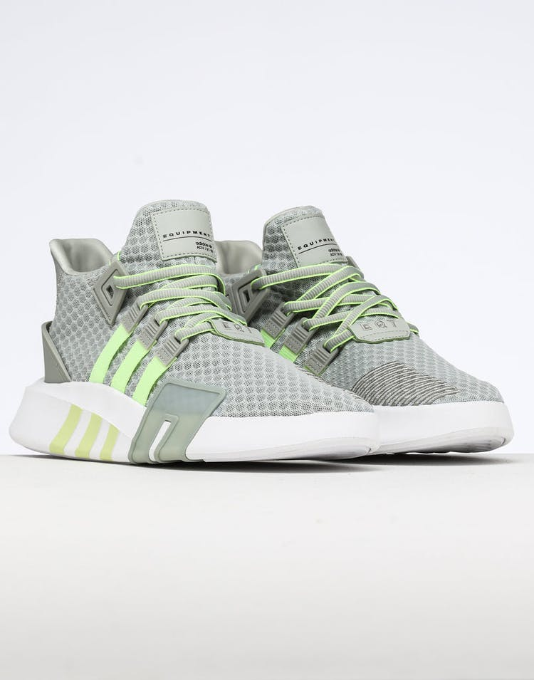 on sale 8b8f1 5f87a Adidas EQT Bask ADV Silver/Yellow/White