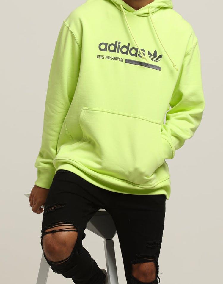 5f3b9fb6ec Adidas GRP Oth Hoody Fluro Lime