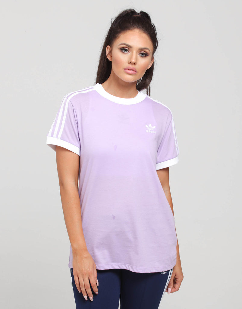 adidas 3 Stripes Tee Yellow | adidas US