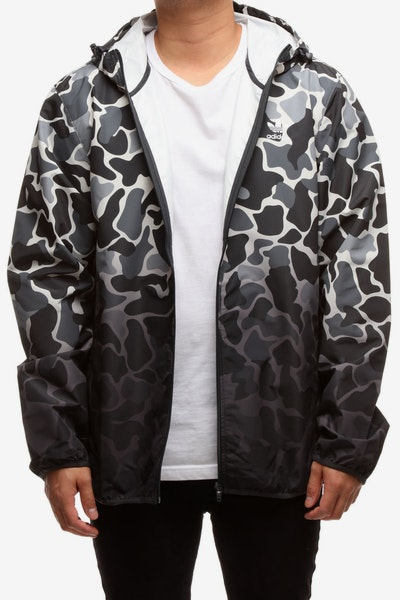 Adidas Camouflage Dip-Dyed Windbreaker Multi-Coloured