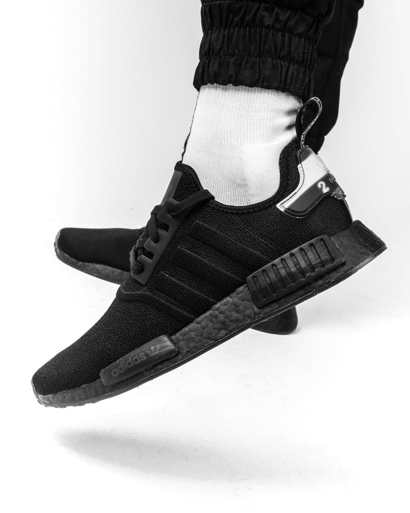 Adidas Nmd R1 Black Black White Culture Kings Us