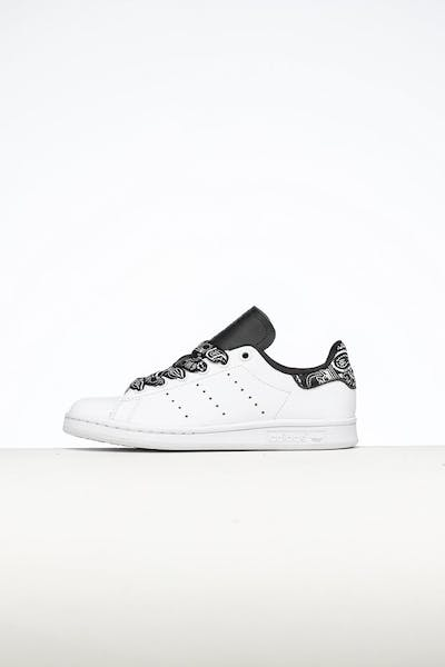 Adidas Kids Stan Smith J White/White/Black