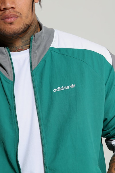 Adidas EQT Blocked Wind Jacket Green