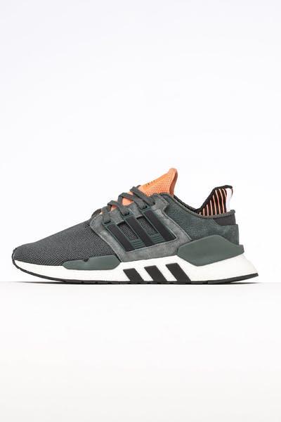 a175654d84e273 Adidas EQT Support EQT Support 91 18 Black Orange