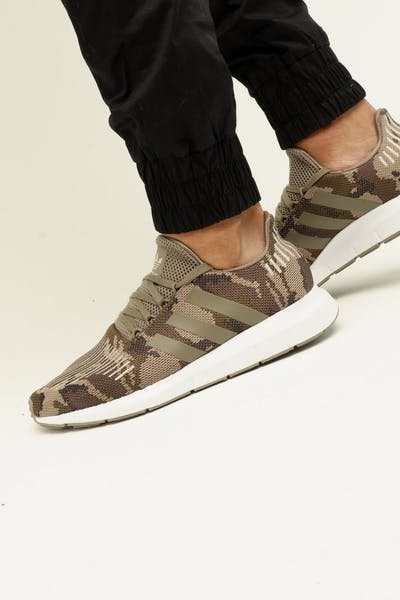 Adidas Swift Run Camo/White