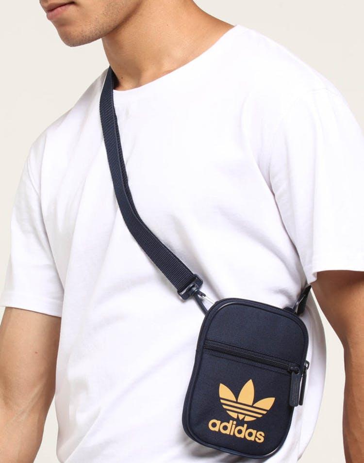 5168494a31 Adidas Trefoil Festival Bag Navy