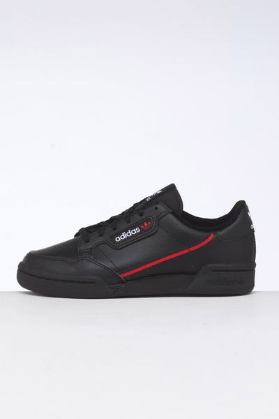 Adidas Kids Continental 80 Black/Red/Navy