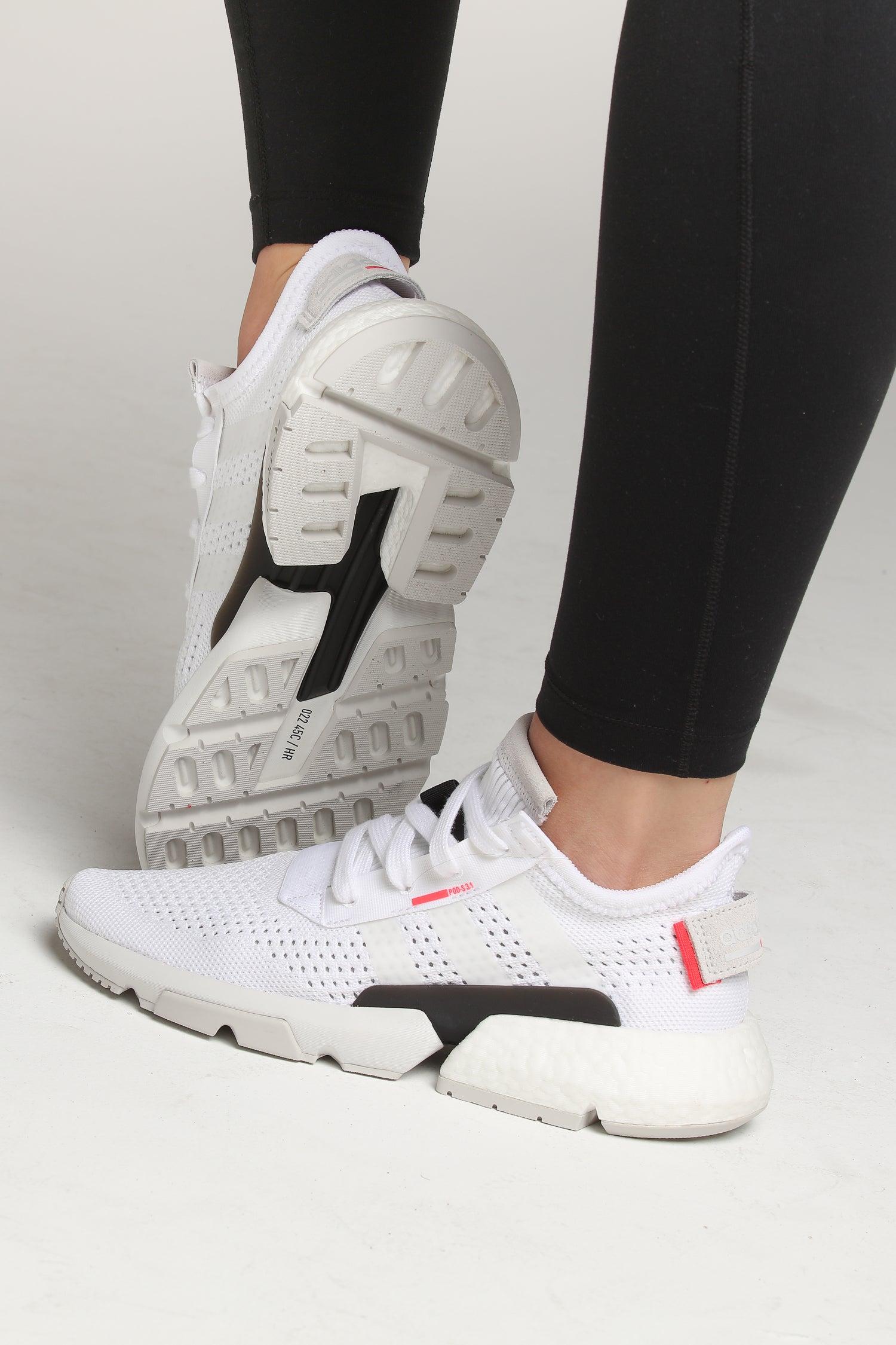 Adidas Women's POD-S3.1 White/White/Red