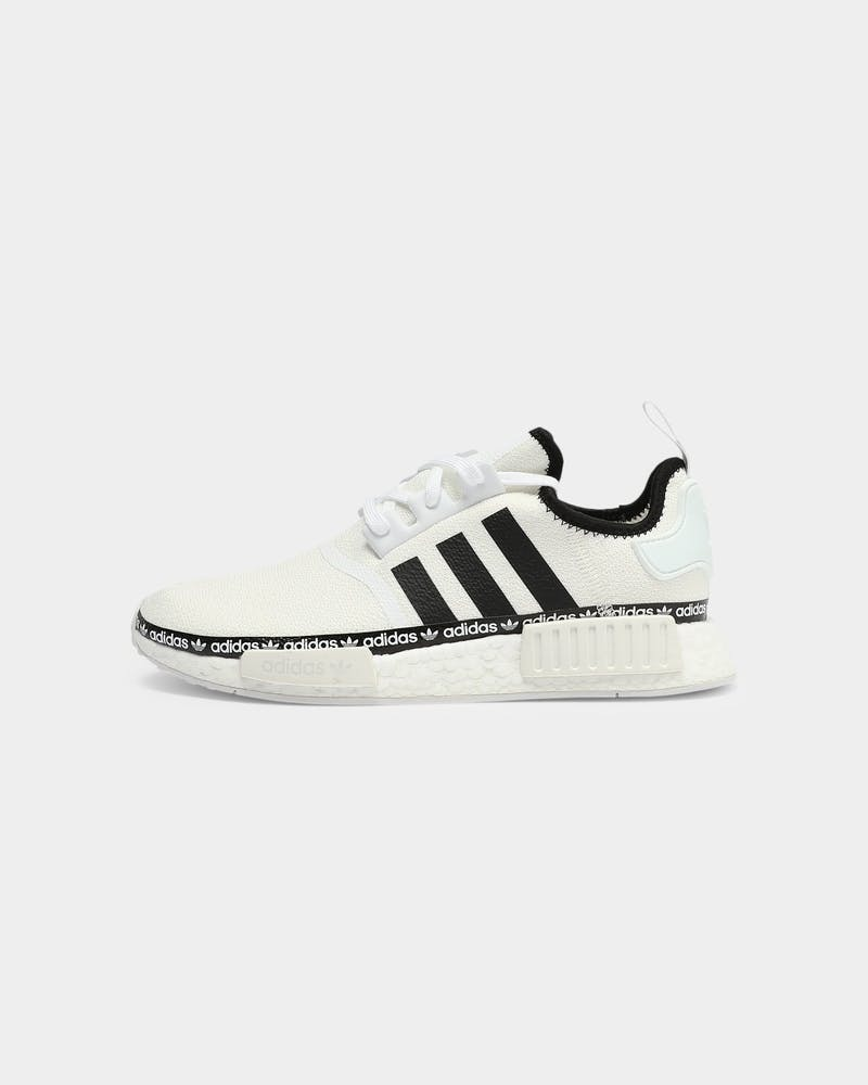 Adidas Men's NMD R1 White/Black/White