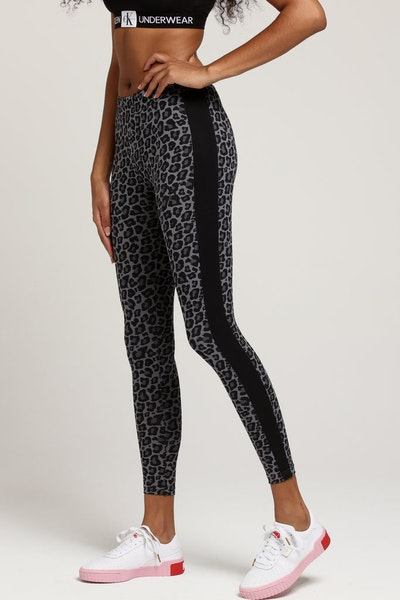 Puma Women's Wild Pack Legging Black Leopard