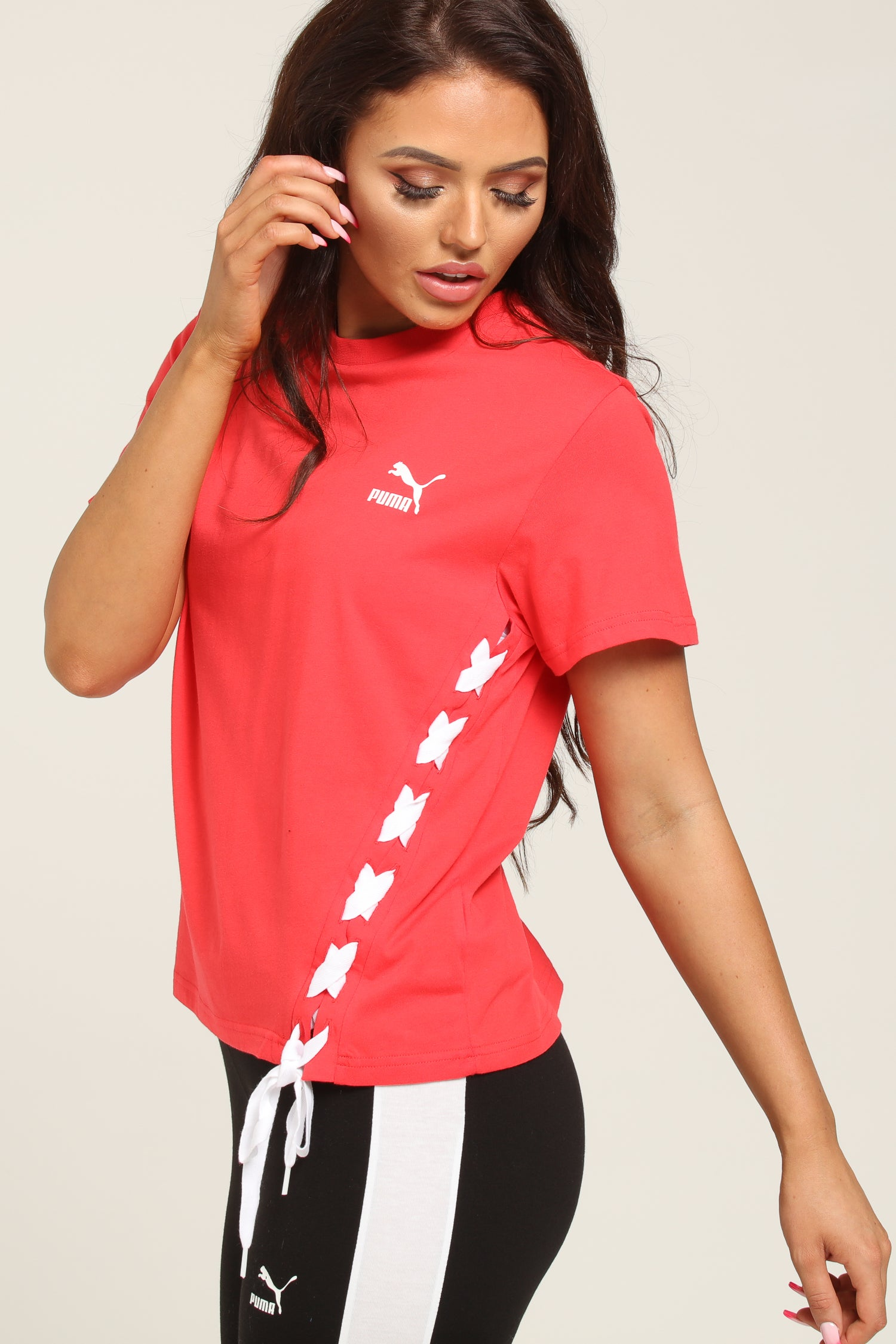 PUMA Women's Crush Tee Hibiscus