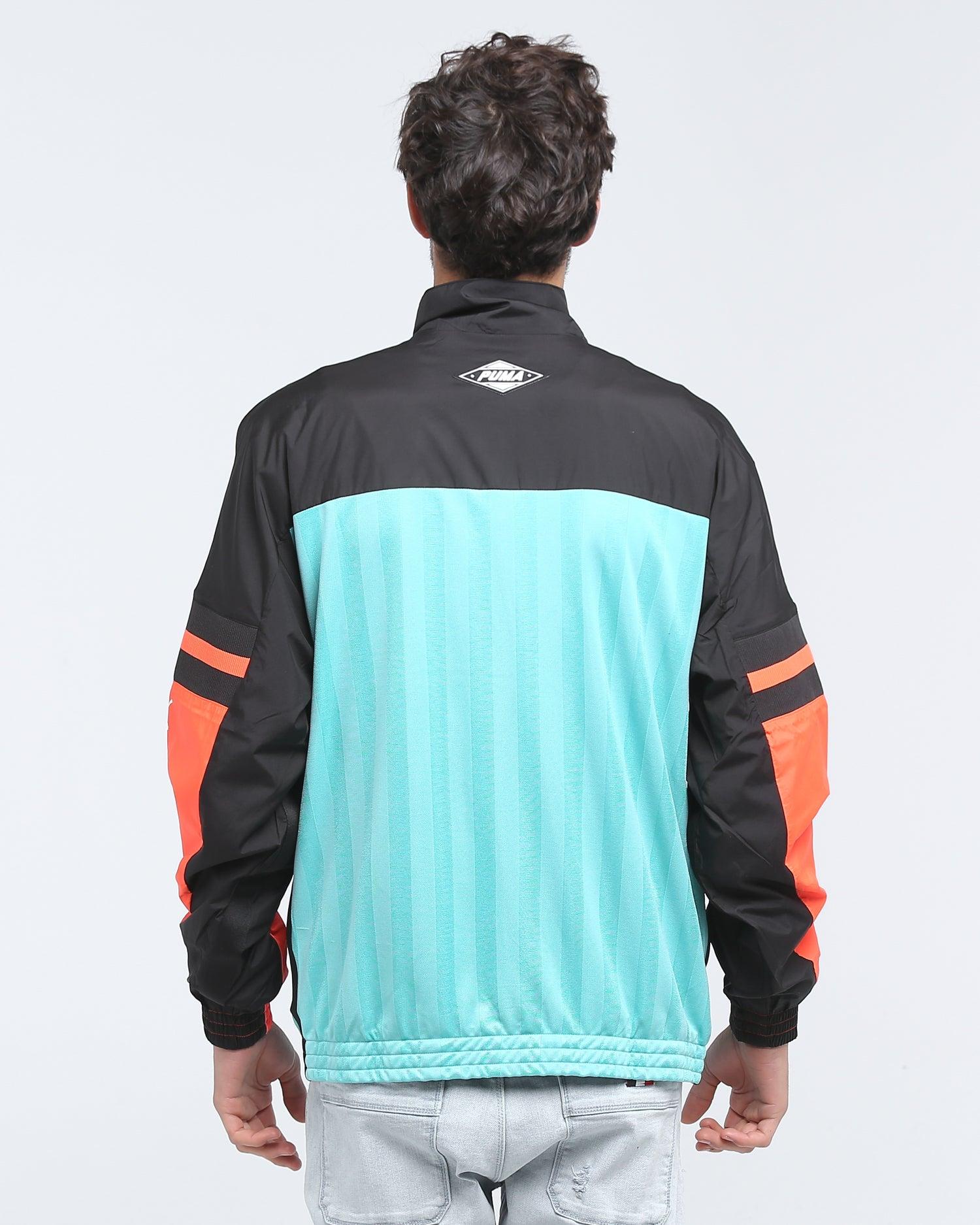 Puma luXTG Woven Jacket Blue Turquoise
