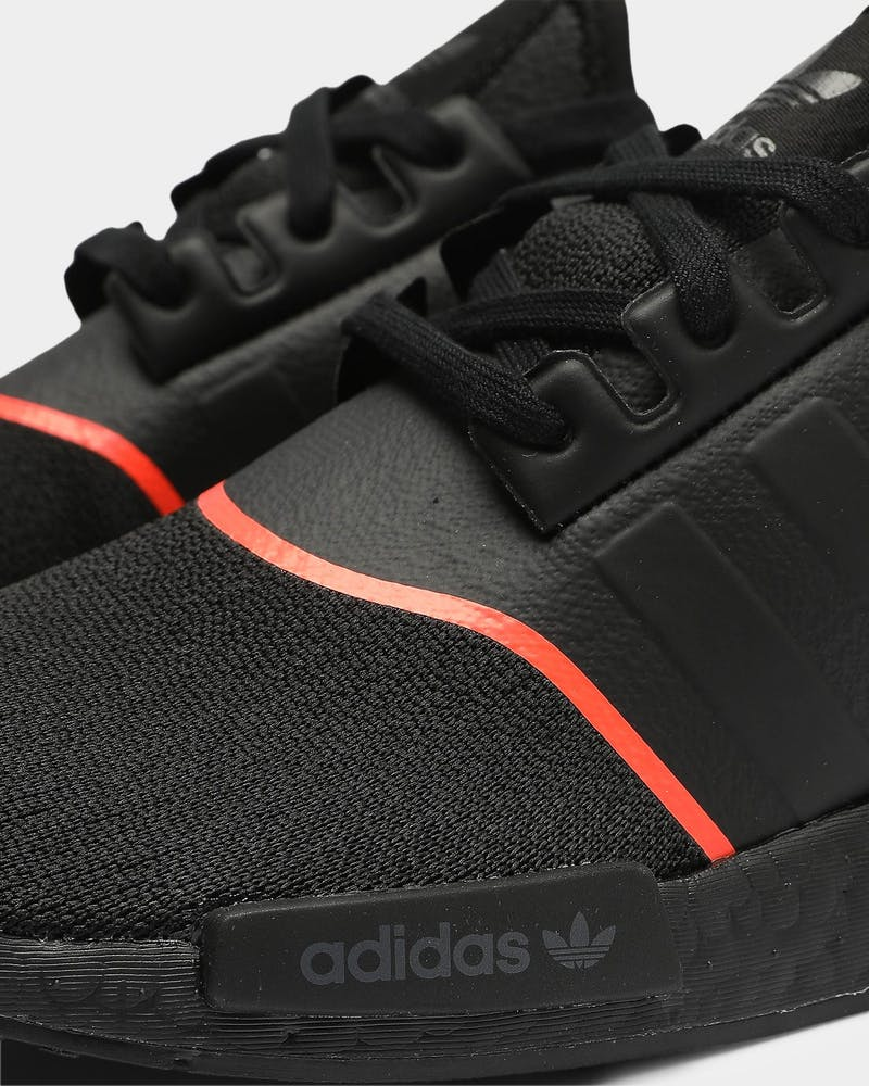 Adidas Nmd R1 Black Black Red Culture Kings Us