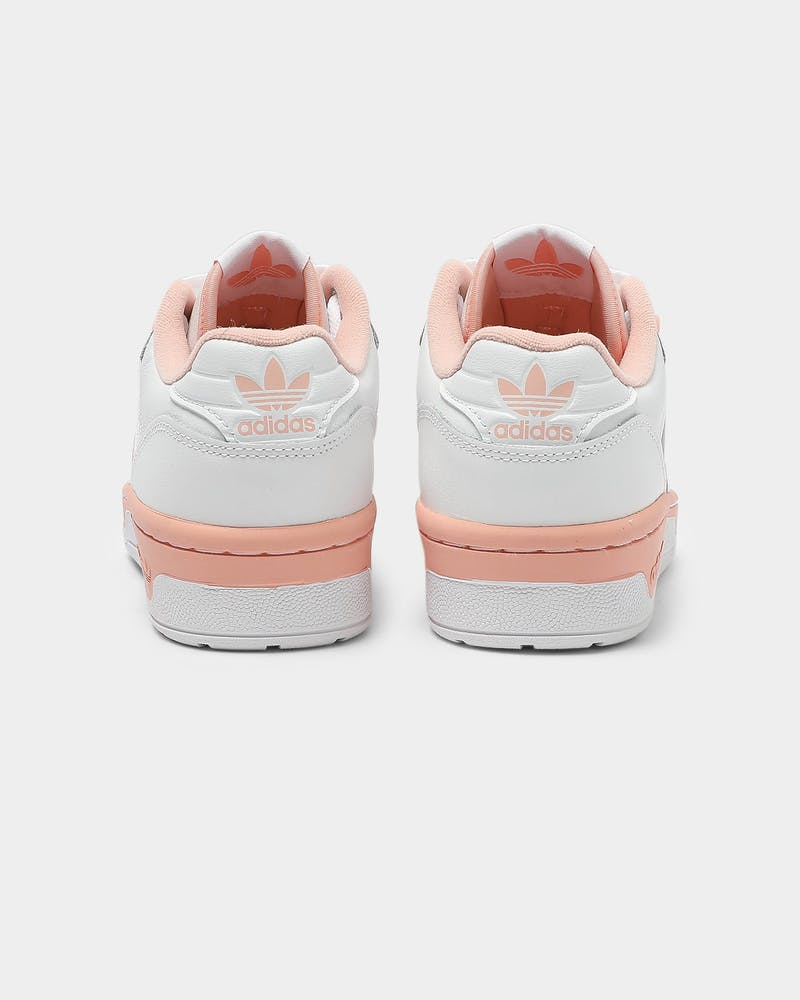 ADIDAS WOMEN'S RIVALRY LOW 	White/Pink