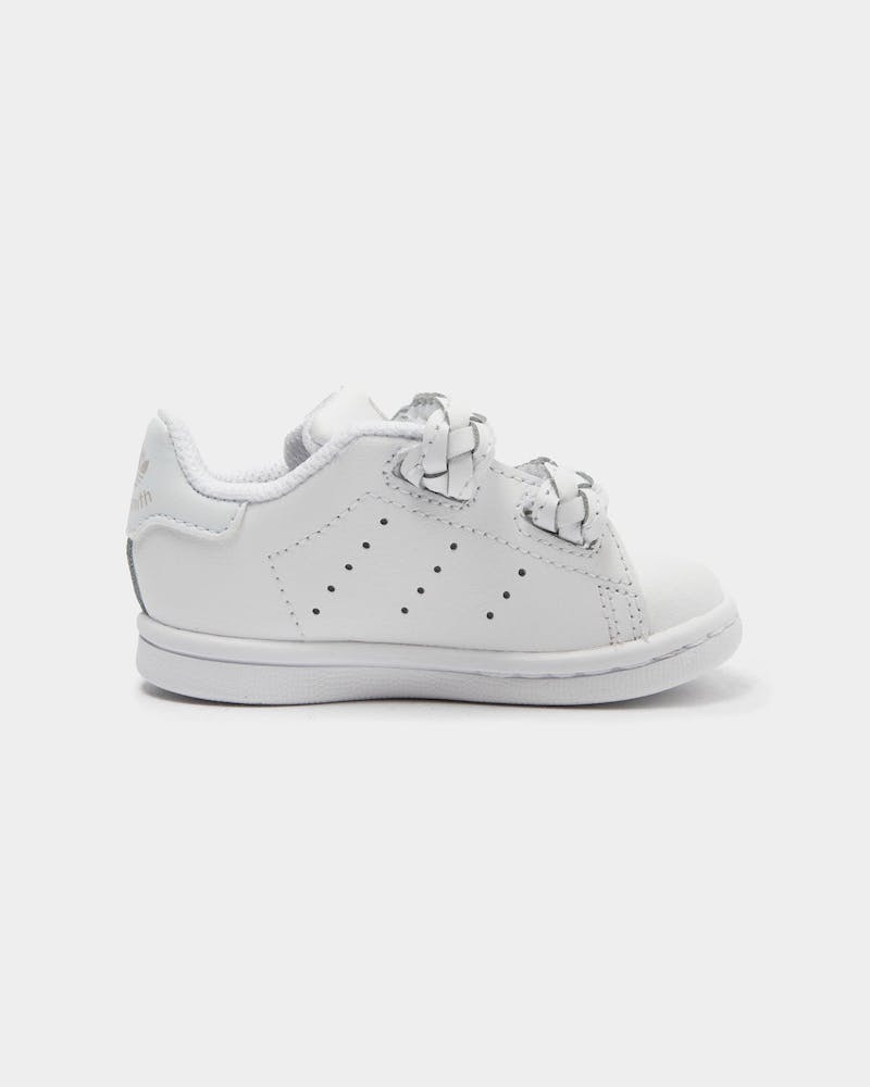 Adidas Kid's Stan Smith CF Infant White/White/Green