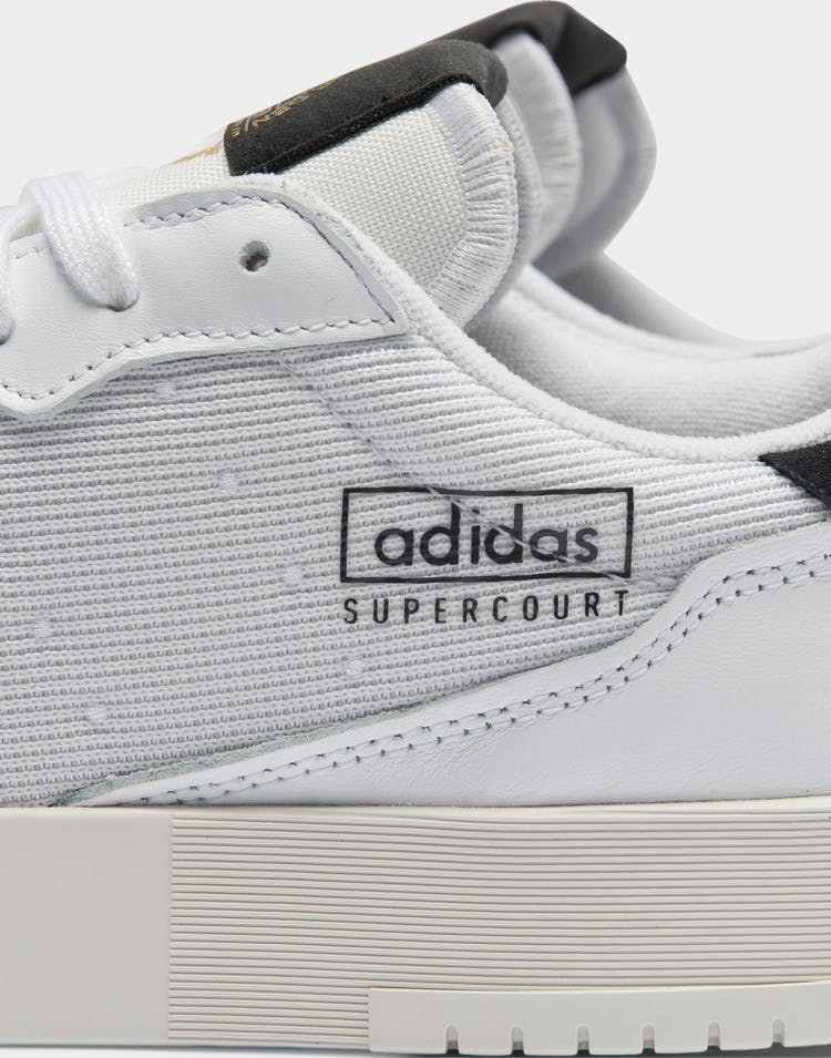 Adidas Men's Supercourt White/White/Black