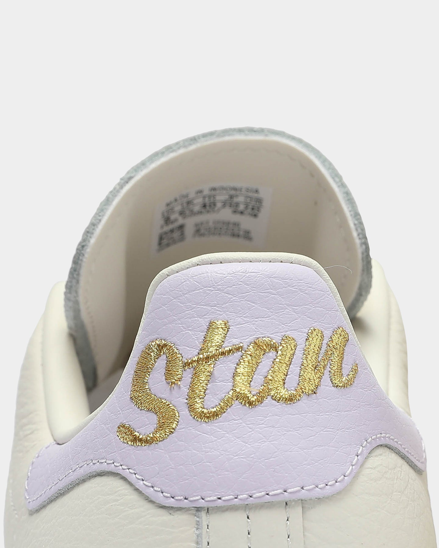 Stan Smith White/Purple/Gold