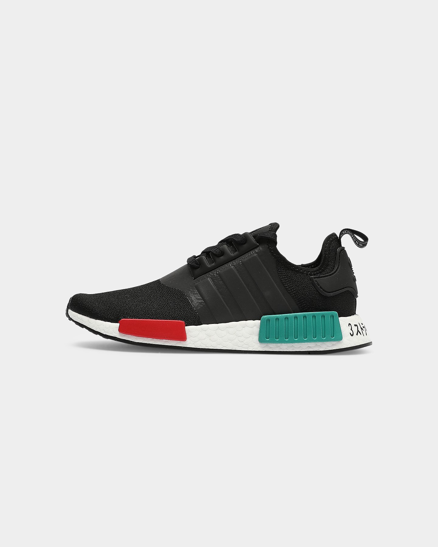 Adidas NMD R1 Black/Green/Red   Culture