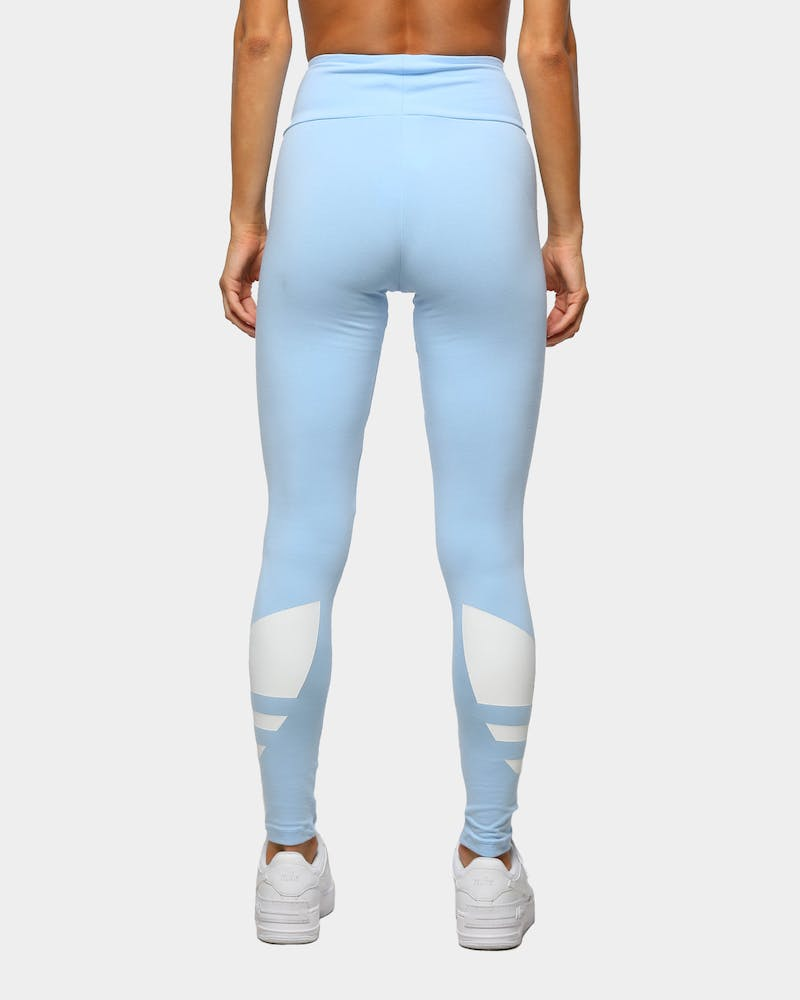 Adidas Women's LRG Logo Tight Clear Sky/White