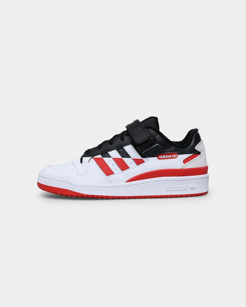 Adidas Forum Low Premium Core Black / Cloud White / Vivid Red