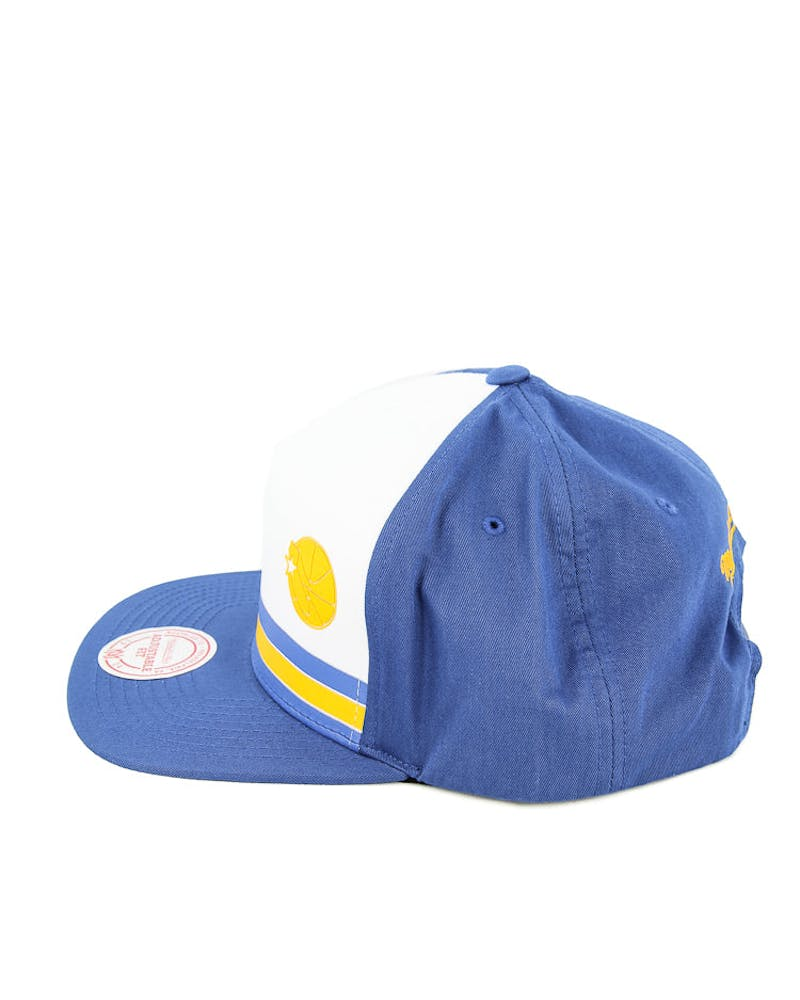 Mitchell & Ness Warriors Pacific Stripe Snapback Royal/white