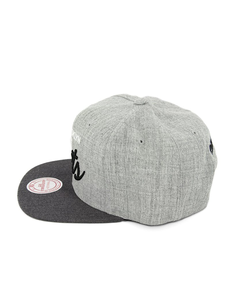 Mitchell & Ness Nets Tri Pop Special Script Grey/charcoal