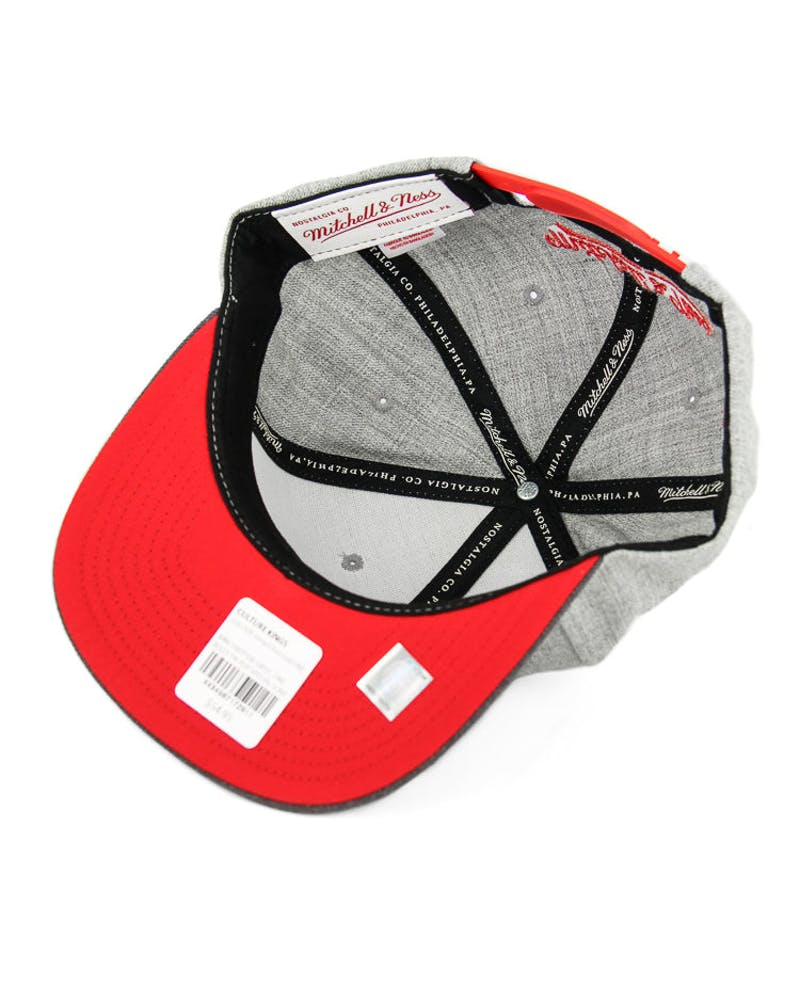 Mitchell & Ness Bulls Tri Pop Special Script Grey/charcoal