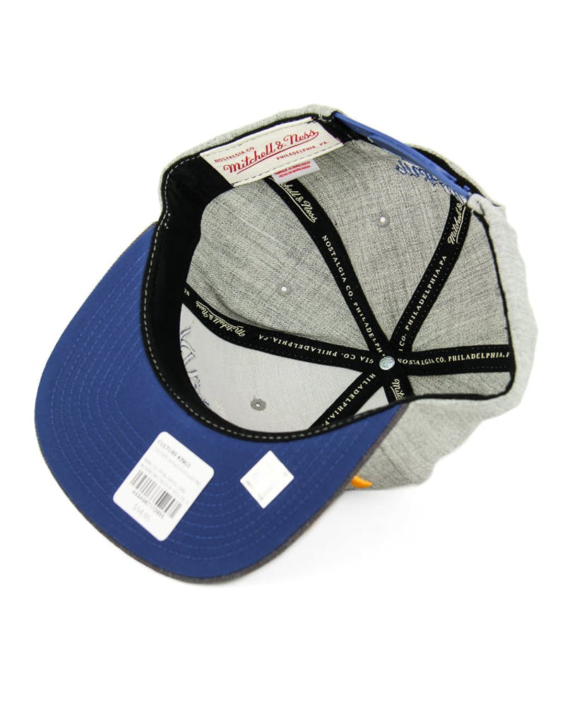 Mitchell & Ness Warriors Tri Pop Special Snapback Grey/charcoal