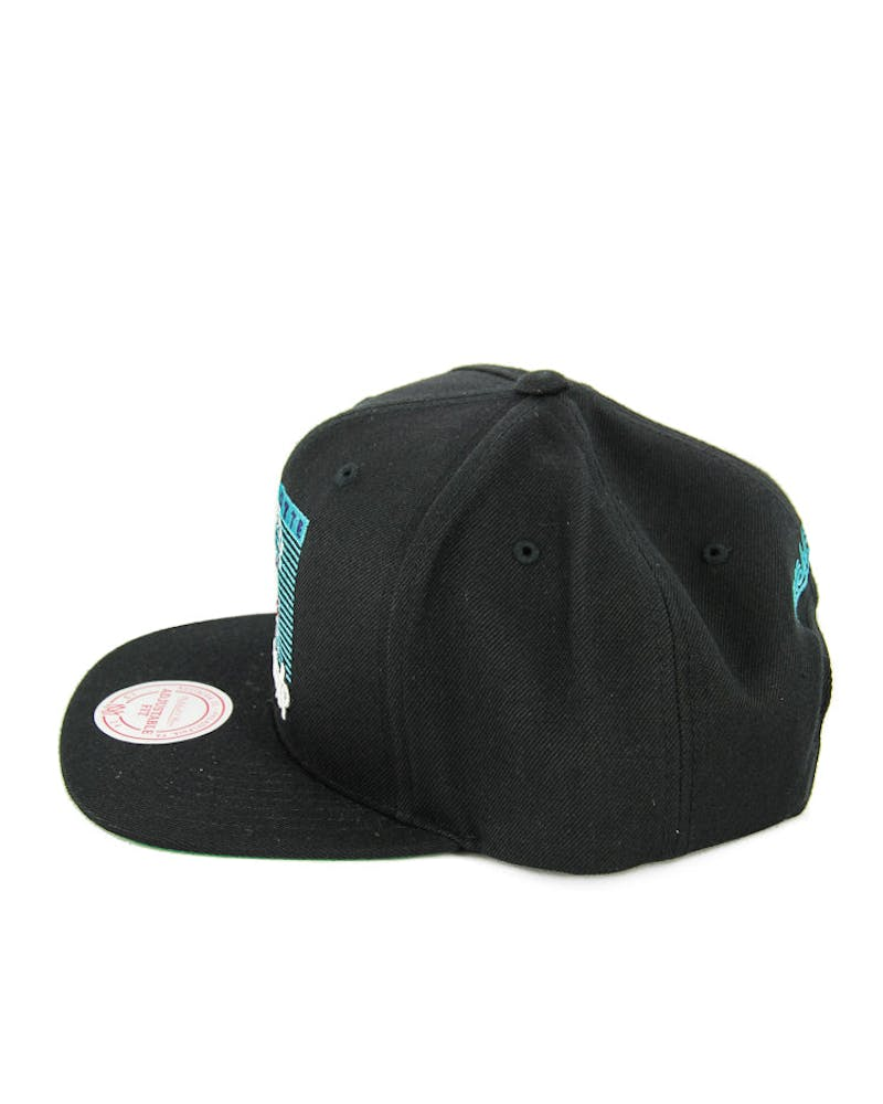 Mitchell & Ness Hornets Easy Three Digital Black/blue