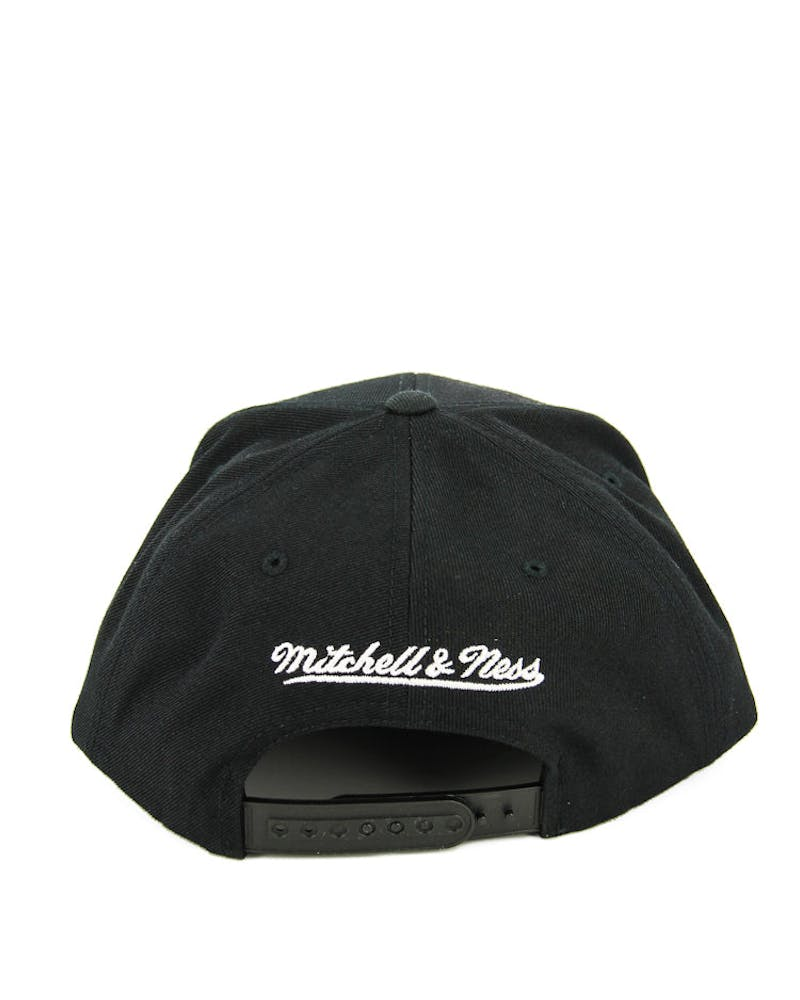 Mitchell & Ness Nets Melangle Infill Snapback Black/grey
