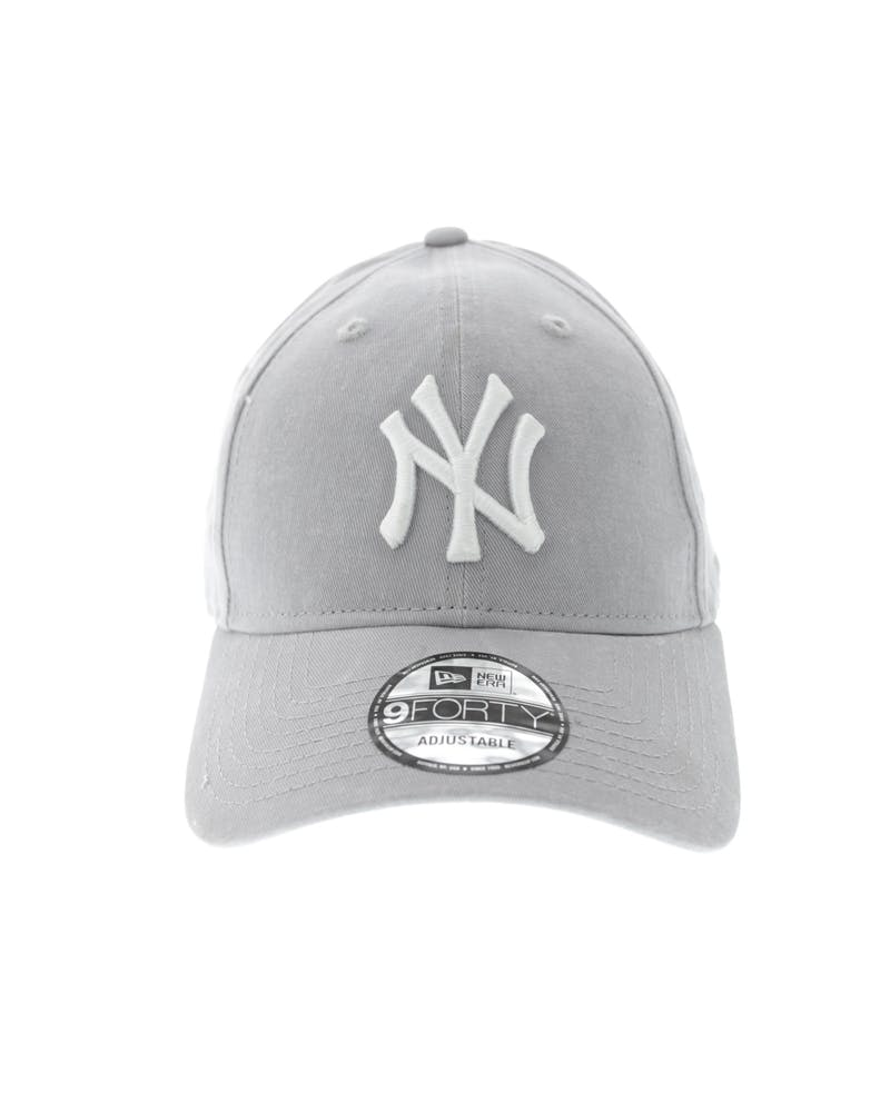 New Era Yankees Washed 9FORTY Strapback Grey/white