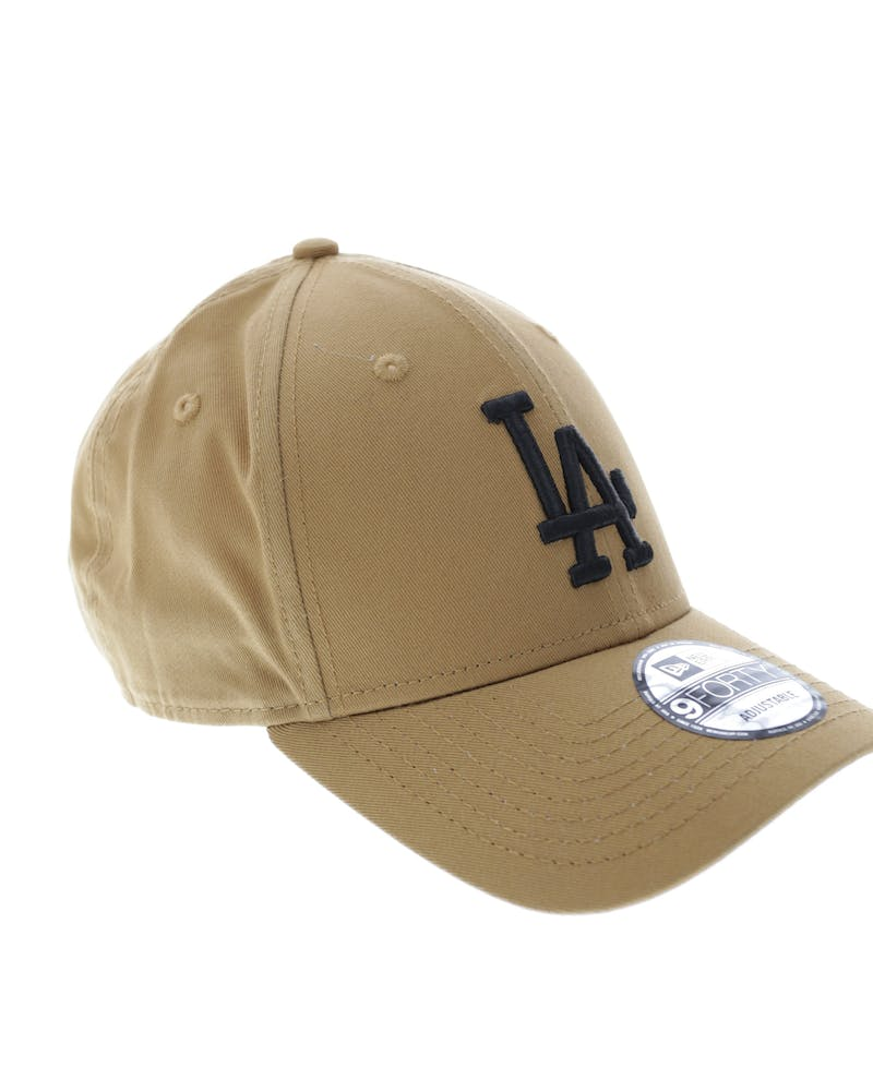 New Era Women's Dodgers 9FORTY Strapback Wheat/black