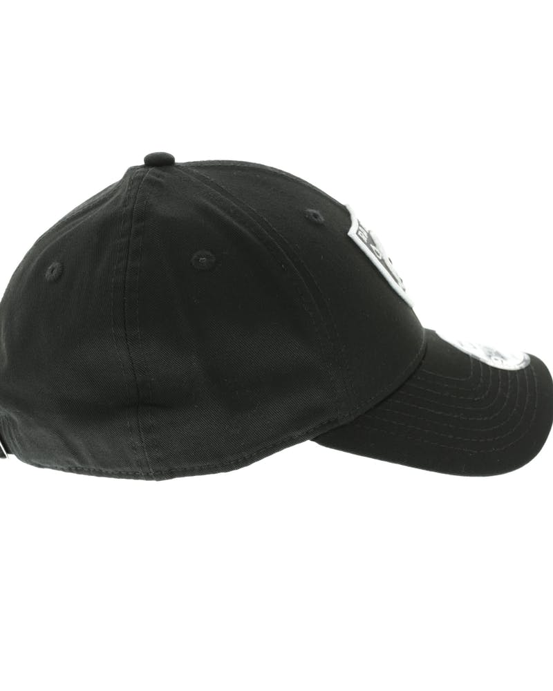 New Era Raiders 9FORTY Strapback Black/white