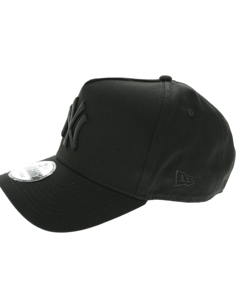 New Era Yankees 9FORTY A-Frame Snapback Black/black