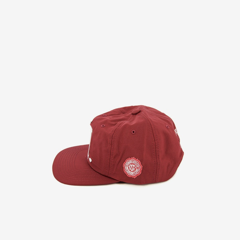 Diamond Supply UN Polo Nylon Snapback Red