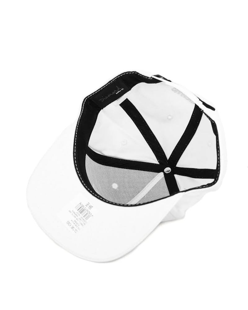 Diamond Supply Brilliant Snapback White
