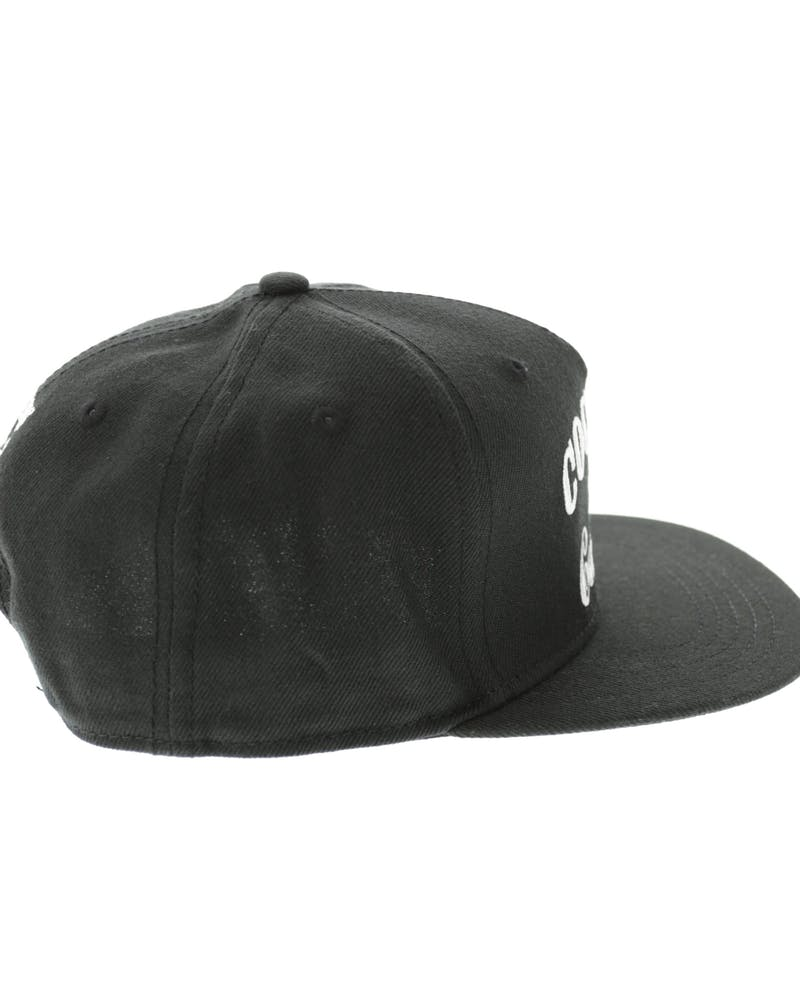 Cocaine & Caviar Snapback Black/white