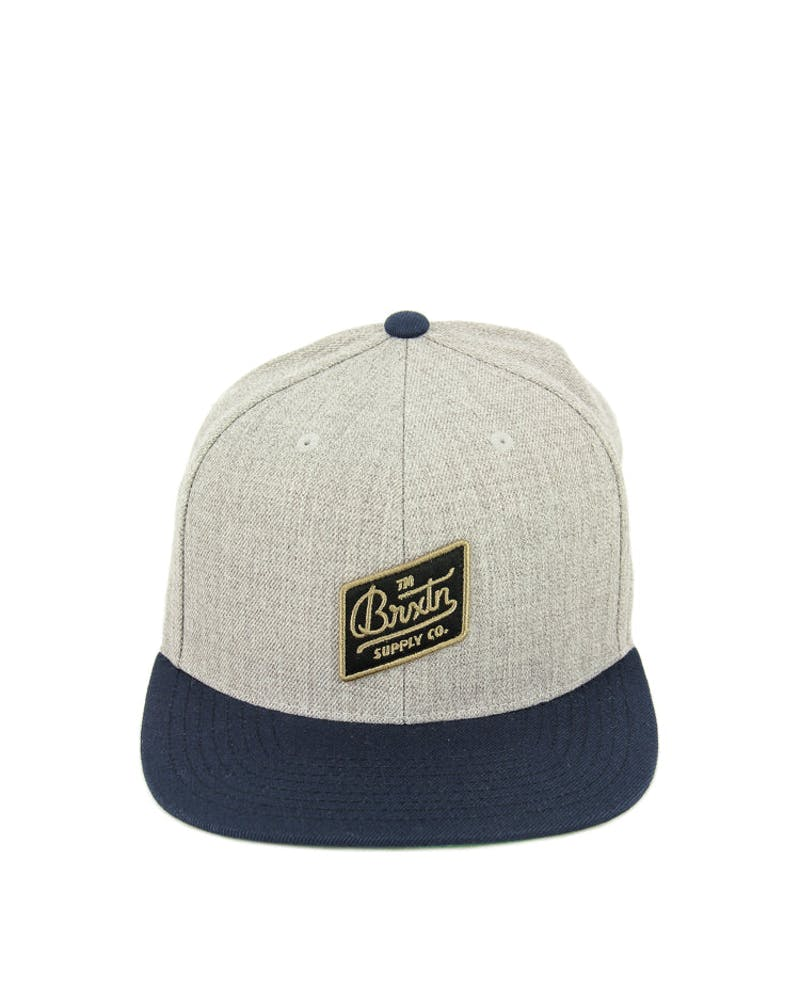 Bedford Snapback Grey/navy