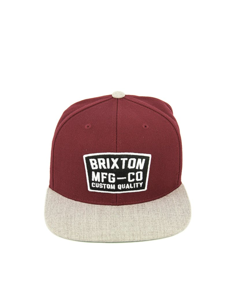 National Snapback Burgundy