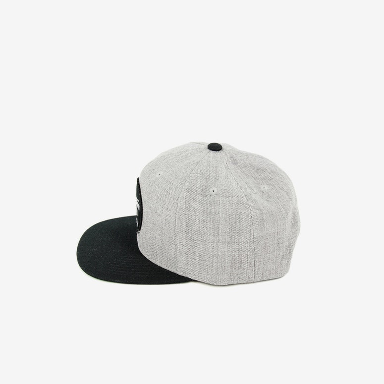 Brixton Wheeler Snapback Grey/black