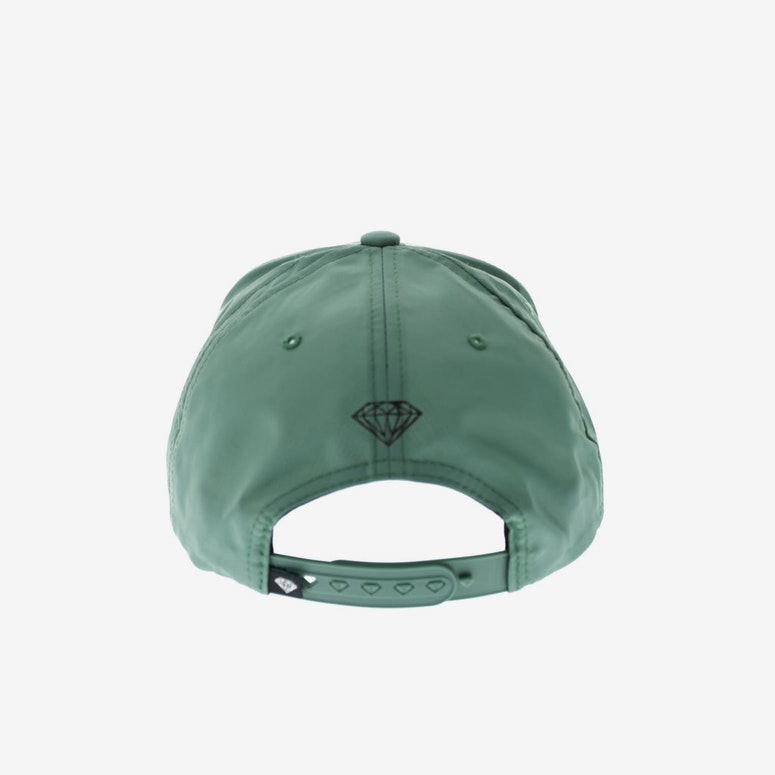 Diamond Supply OG Script Satin Snapback Green