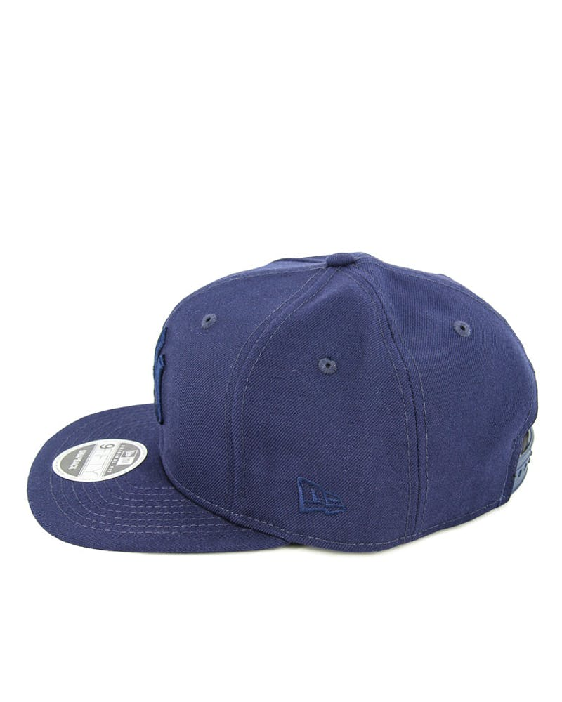 New Era Yankees Tonal Original Fit Snapback Light Navy